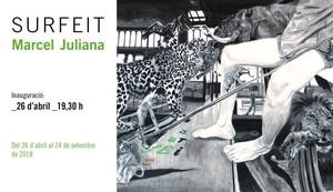Surfeit del artista Marcel Juliana, estará en la Fundació Arranz-Bravo de LHospitalet hasta el 24 de setiembre