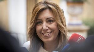 La dirigente socialista Susana Díaz.