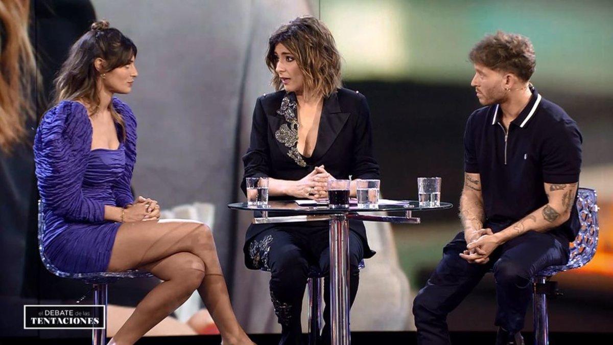 Susana y Gonzalo en 'El debate de las tentaciones'.