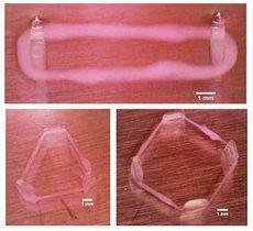 Nanorrobots con material muscular creado a partir de impresión 3D.