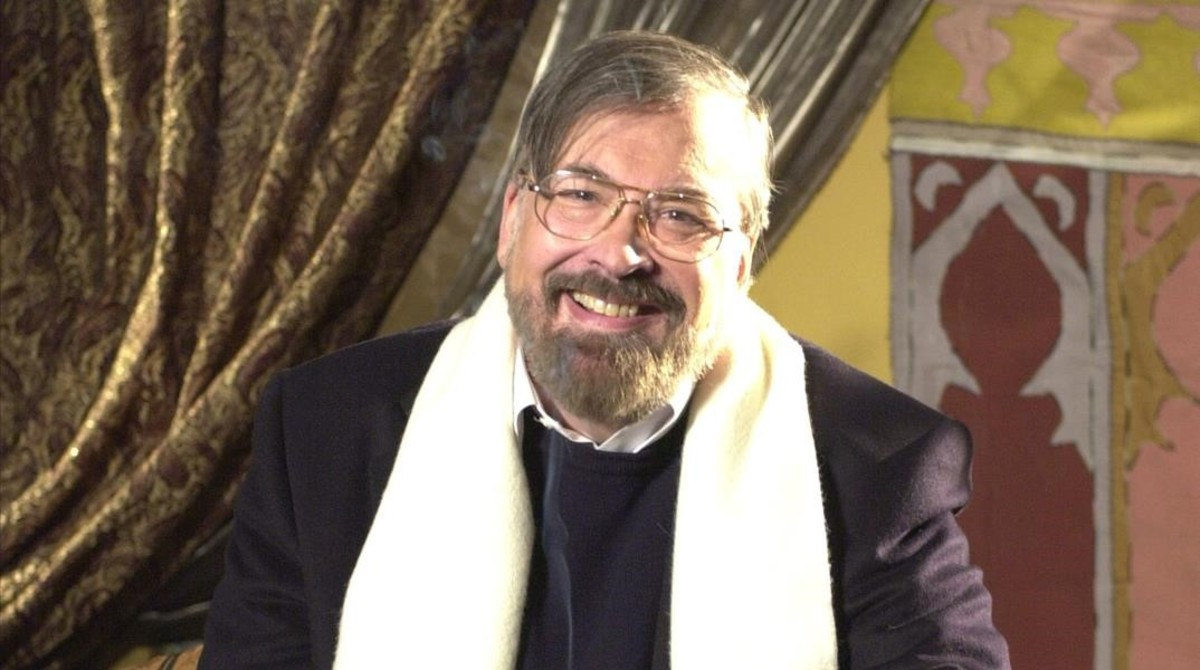 Chicho Ibáñez Serrador, en su época de director del programa de TVE Un, dos, tres... responda otra vez.