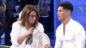 Toñi Moreno con Martí en 'MYHYV'