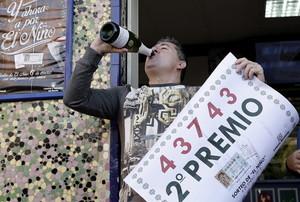 Una serie del segundo premio, el 43.743, celebrada en Valencia.