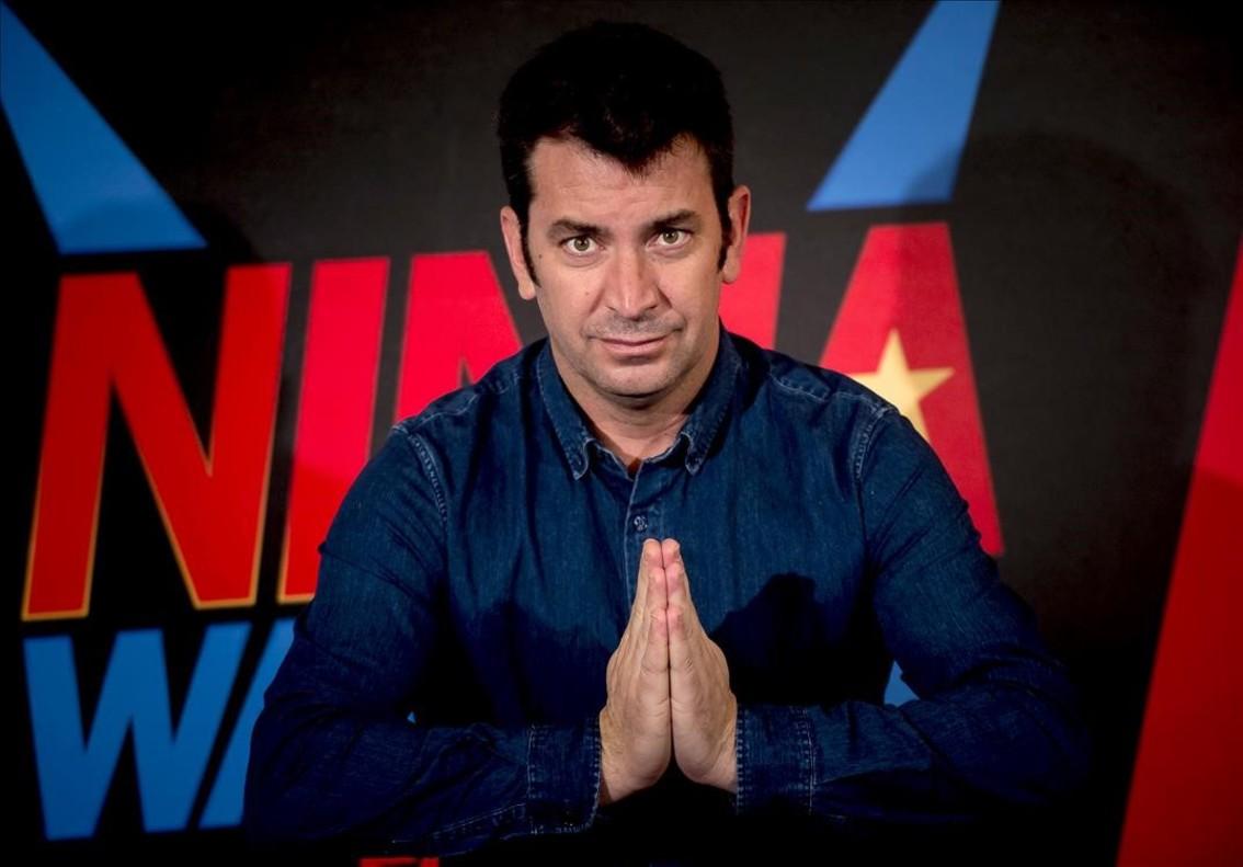 Arturo Valls, presentador de 'Ninja Warrior'.
