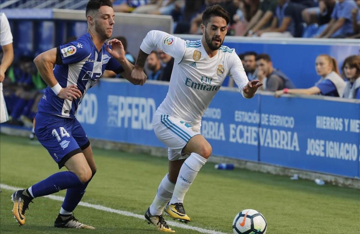 Ceballos frena l'angoixa del Madrid