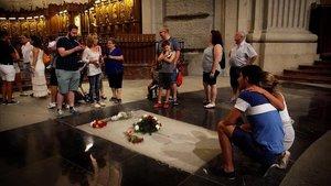 El TSJM torna la causa al jutge que va paralitzar l'exhumació de Franco