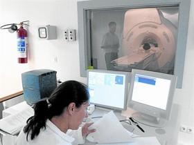 Una prueba de resonanciamagnética.