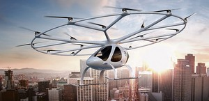 El innovador Volocopter se exhibirá en la próxima edición de Smart City Expo World Congress.