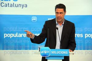 Xavier Garcia Albiol, durante un acto de campaña el 2011.