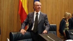 La compareixença de Rato a la comissió sobre la crisi, en directe