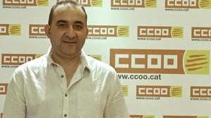 Javier Pacheco, secretario general de CCOO de Catalunya.