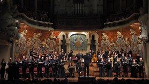 Concierto de René Jacobs de 'La Pasión según San Mateo', de Bach.