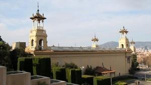 El pabellón Victòria Eugènia de Montjuïc.