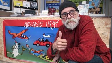 """Arcadio Urpí: """"Tengo la fortuna de inventarme el mundo"""""""