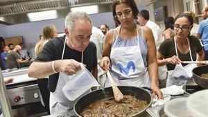 El dia en què vaig ser ajudant de Ferran Adrià