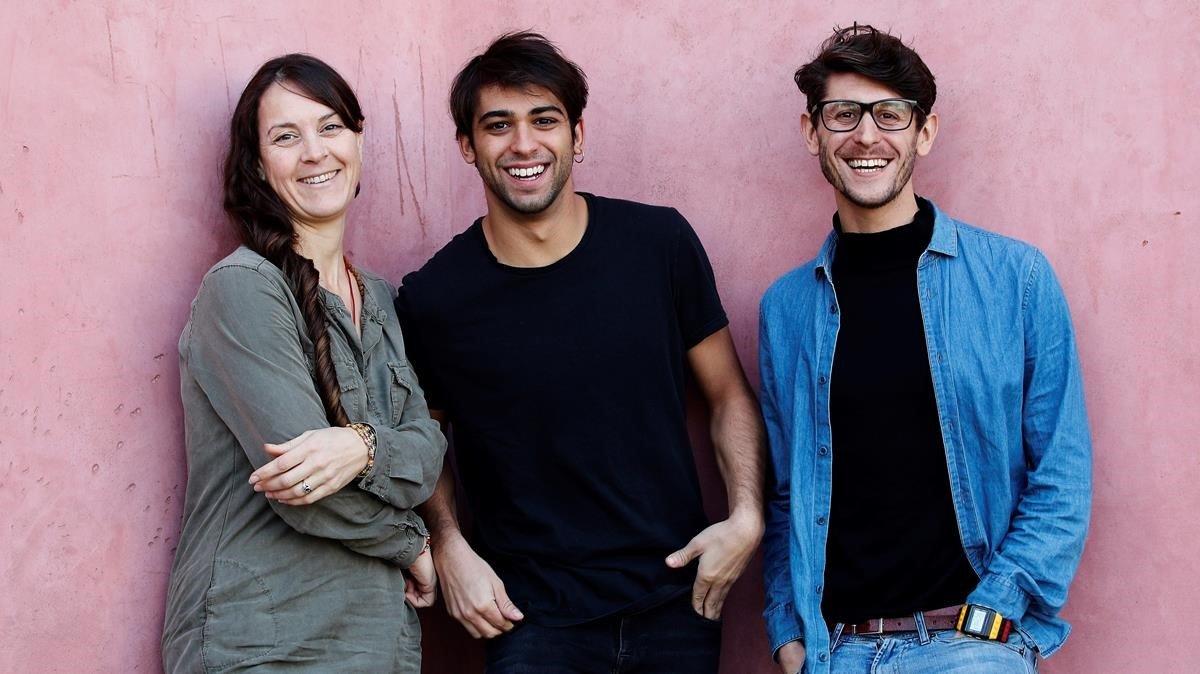 Montse Rodríguez, Albert Salazar, Daniel J. Meyer.