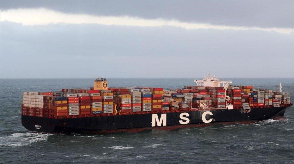 Empresa naviera dice que pagará por la limpieza de isla holandesa