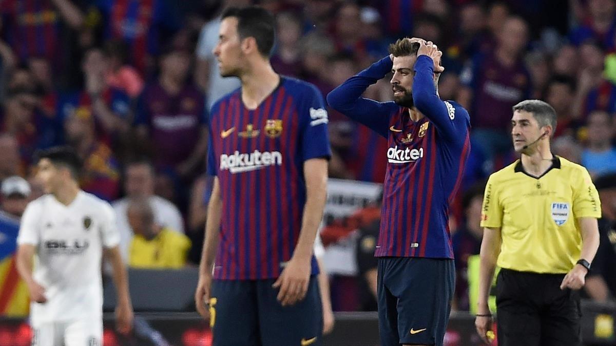 El Barça es queda sense doblet en una altra nit nefasta
