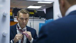 La policia russa fa un registre massiu de les oficines de l'opositor Navalni per tot el país