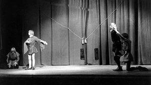 Representación de'Or i sal' en elPalau de la Música Catalana, el 18 de mayo de1961.