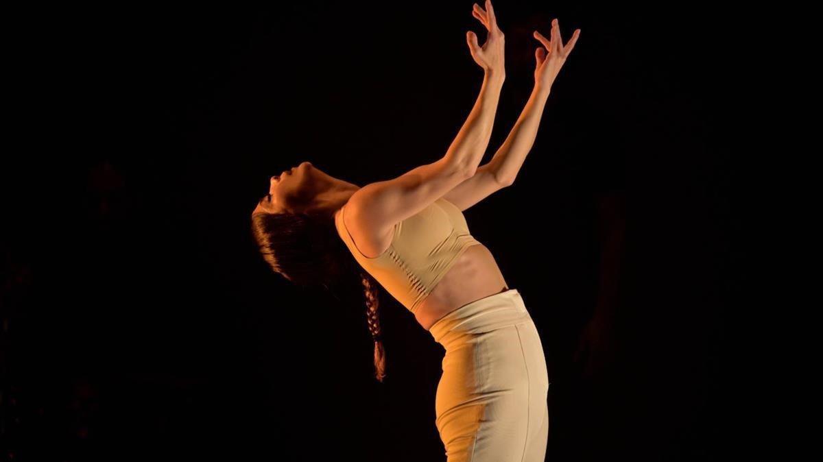 Olga Pericet en un momento de 'Un cuerpo infinito'.