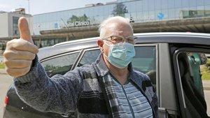 Paco, l'ancià que va vèncer el coronavirus: «Jo tinc les vides d'un felí»