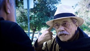 Jon Sistiaga con Edward James Olmos.