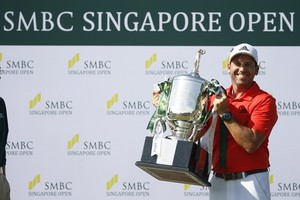 Sergio García estrena la seva temporada amb el títol a Singapur