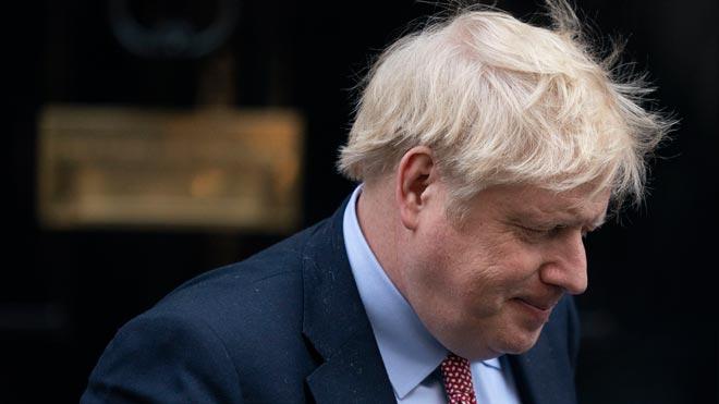 Boris Johnson, positiu per coronavirus