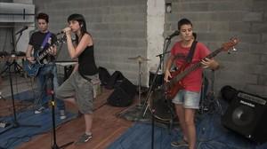Conciertos alternativos en el festival Ladyfest.
