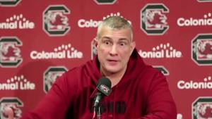 Frank Martin, entrenador de baloncesto de la Universidad de Carolina del Sur (EEUU).