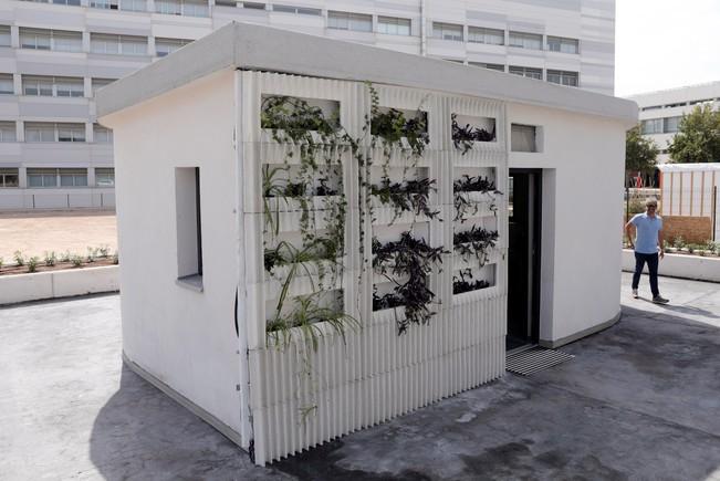 La estructura de la casa piloto creada por Be More 3D./KAI FOERSTERLING