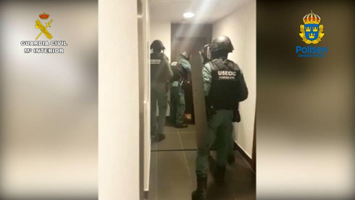 Detingut a Barcelona un cap de la 'patrulla de la mort', que preveia cometre un assassinat imminent