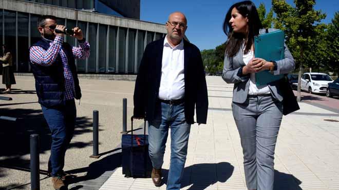 Borja Fernández i el metge de l'Osca, en llibertat amb càrrecs