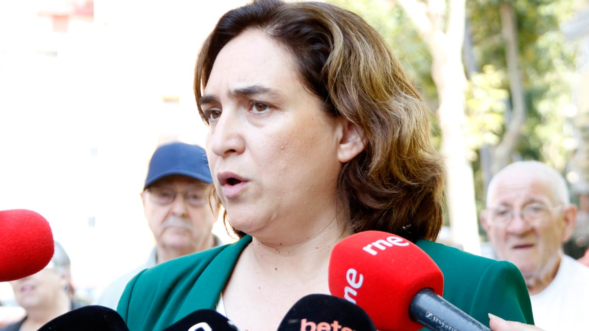 Ada Colau dice que a Pedro Sánchez se le han acabado las excusas.