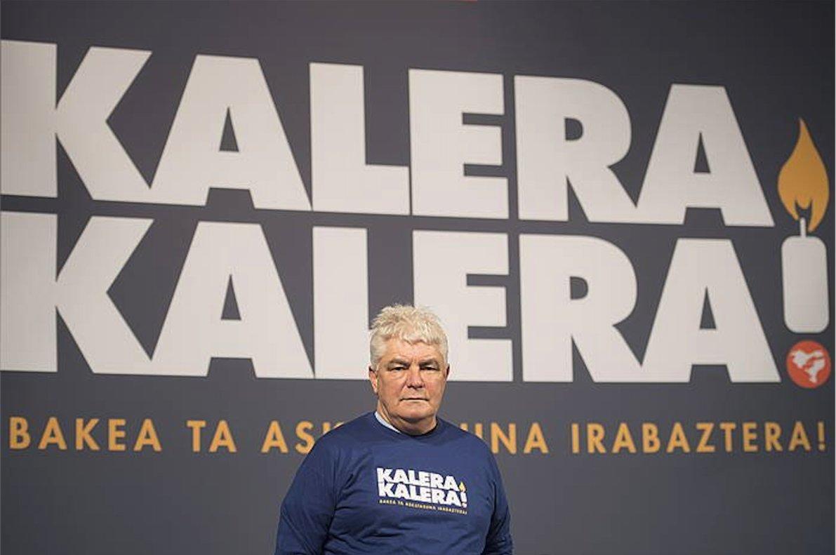 El etarra Kubati, durante el homenaje a Belén González Peñalba, alias Carmen.
