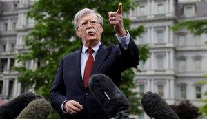 El asesor de seguridad nacional de EEUU, John Bolton.
