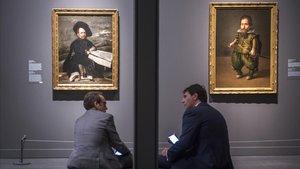 Aspecto de la exposición 'Velázquez y el Siglo de Oro' en Caixaforum Barcelona.
