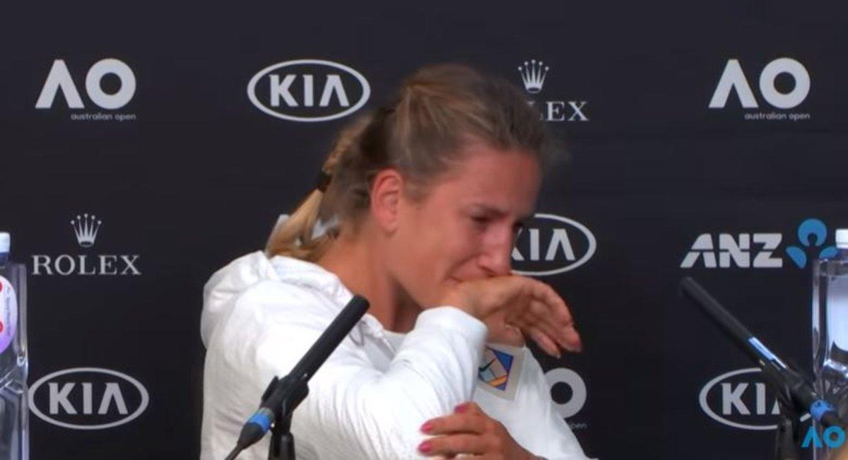 La desgarradora respuesta de Azarenka al ser preguntada por las dificultades de volver al tenis tras ser madre