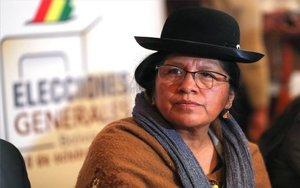 La expresidente delTribunal Supremo Electoralde Bolivia, María Eugenia Choque Quispe.