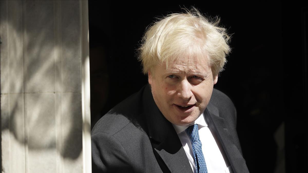 El exministro de Exteriores británico,Boris Johnson.