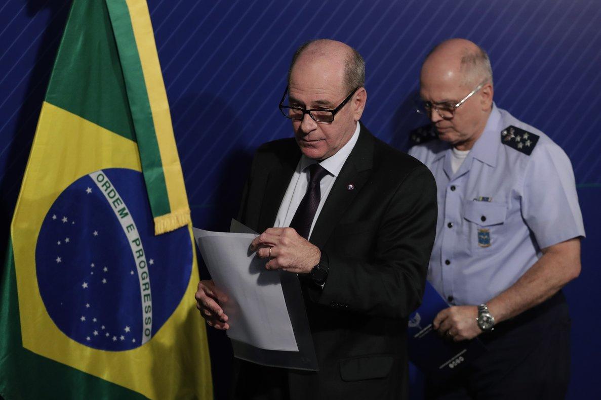 El ministro de Defensa de Brasil,Fernando Azevedo.