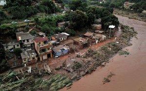 Lluvias e inundaciones en Brasil.