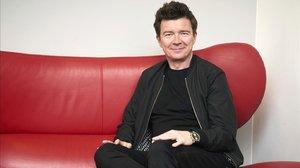 El cantante británico Rick Astley en Berlín, el pasado año.