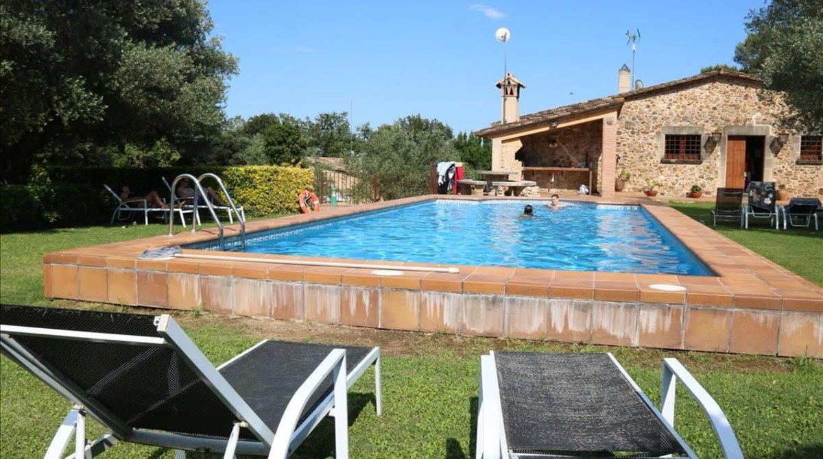 Casa de turismo rural en Monells (Girona).