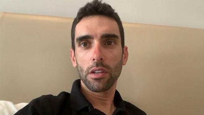 El ciclista Dani Navarro cuenta la situación en los Emiratos Árabes por el coronavirus.