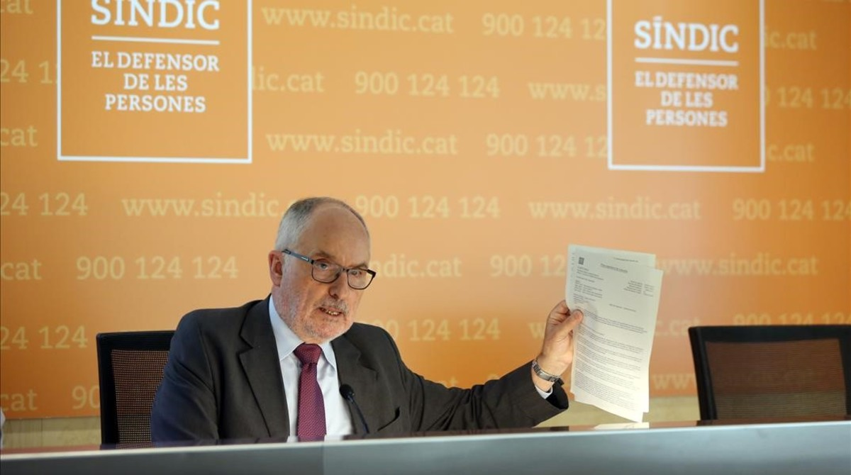 El Síndic investiga l'actuació de Salut davant el brot d'enterovirus