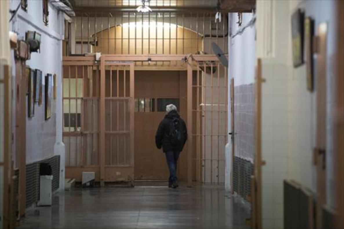 Interior de la cárcel Modelo de Barcelona, que deberá cerrar el próximo mes de junio.