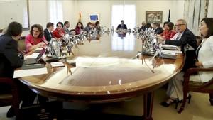 Consejo de Ministros de Pedro Sánchez, el 6 de julio del 2018