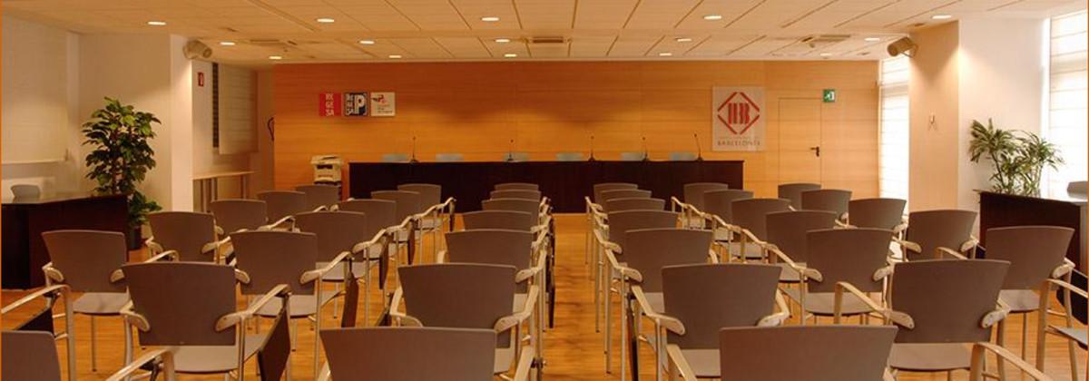 Pleno del Consell Comarcal del Barcelonès.